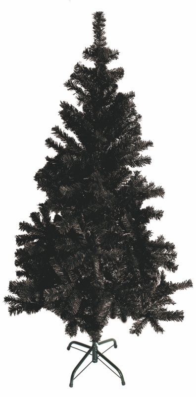 Umělý vánoční stromek černý
