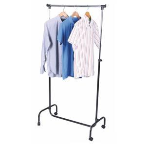 Pojízdný stojan na šaty 80x44x170 cm výškově nastavitelný