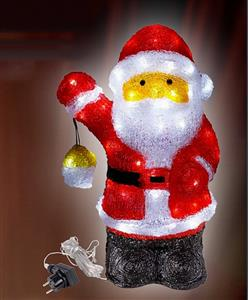 LED Santa s laternou