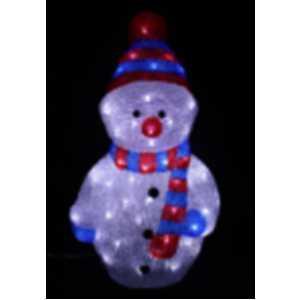 LED sněhulák 2