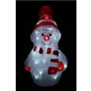 LED sněhulák 1