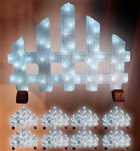LED světelný plot
