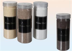 Umělý dekorativní písek béžový jemná frakce 400 g